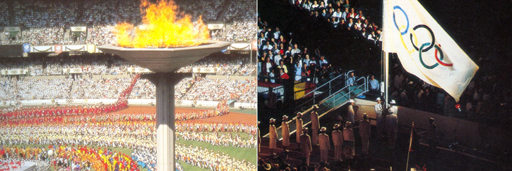 The Declaration of Seoul Peace is adopted on September 12, 1988 at the Seoul Olympics